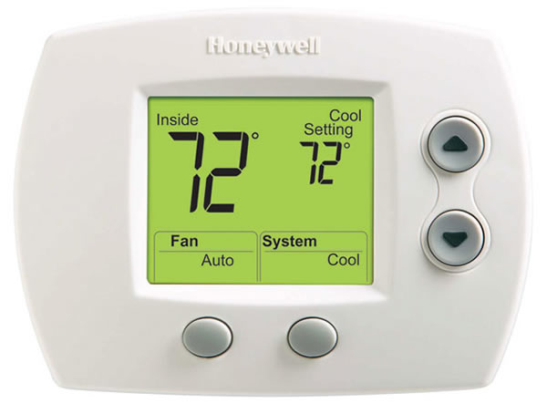 Honeywell Focus Pro 5000 Non-Programmable Thermostat TH5110D1022