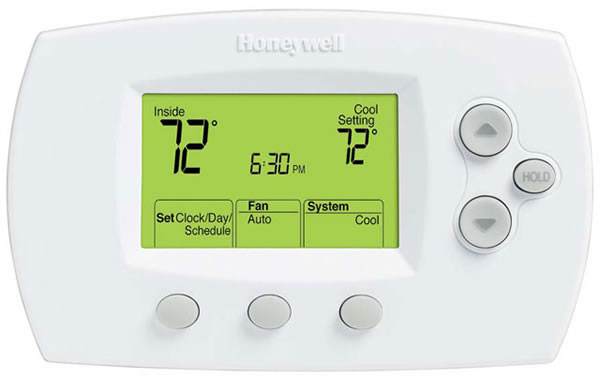 Honeywell Focus Pro 6000 Programmable Thermostat TH6110D1005