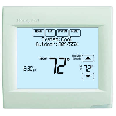 Honeywell Vision Pro 8000 Touchscreen Thermostat TH8110R1008