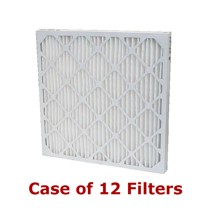 Custom 1 inch MERV 8 Pleated Filters Case of 12
