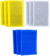 Electro Breeze 1 Inch Replacement Pads 3 Pack 12x12x1