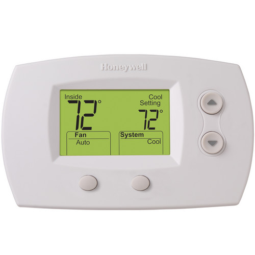 honeywell focus pro 5000 non programmable thermostat th5220d1003 rh hvac parts online com honeywell 5000 digital thermostat installation manual honeywell digital thermostat user guide