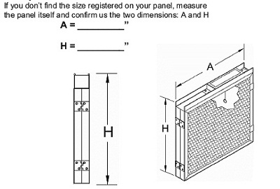 Measuring a Dynamic Air Panel for Replacement Pads
