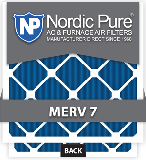 Trane Compatible 1 Inch Air Filters NPFLRSF1265M7-6 Pack