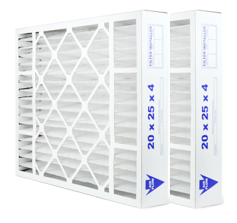 Carrier TopTech TT-FM-2025 MERV 11 Replacement Air Filter - 2 Pk
