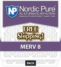 Nordic Pure Furnace Air Conditioner And Heat Pump Filters