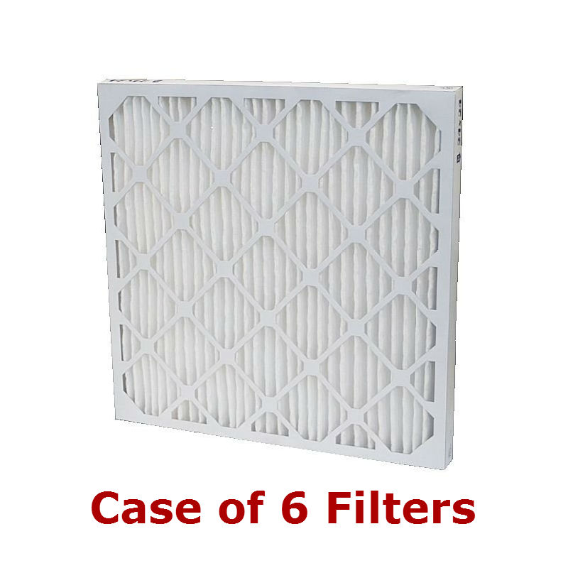 Carrier 13x21-1/2x1 inch MERV 8 Pleated Filters Case of 6